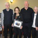 La Table régionale de concertation des personnes aînées souligne leshonneurs reçus par Mme Aline Desrochers d'Amos