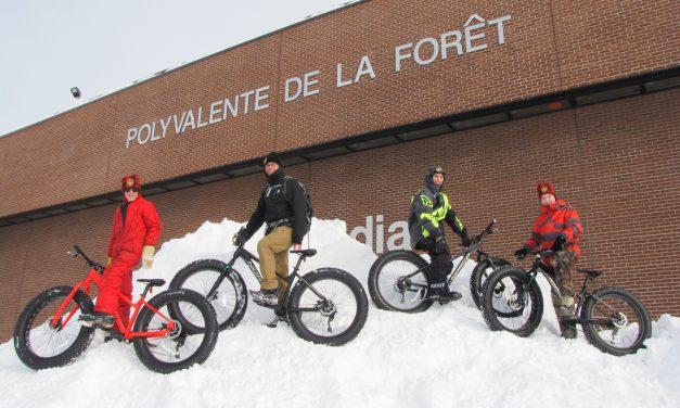 Énergie Famille appuie l'initiative des Fat Bikes du Club plein air de la Polyvalente de La Forêt