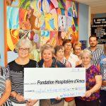 La Fondation Hospitalière d'Amos est très fière des dons reçus de la part des Bénévoles