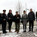 Le comité du 100 e de Senneterre inaugure la «Forêt du 100 e »