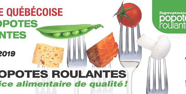 14 e édition de la Semaine québécoise des popotes roulantes