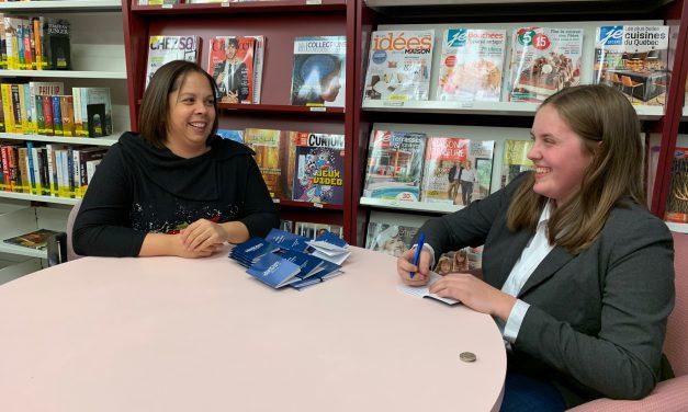 Prix littéraire jeunesse Télé-Québec Lancement du livre de Maude Boucher «Le podium de la honte»