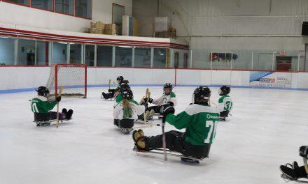 Du Hockey luge en Abitibi-Ouest pour les jeunes.