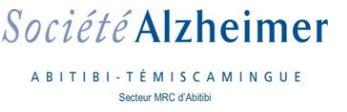 Suspension des activités de groupes et des visites à domicile par Société Alzheimer Abitibi