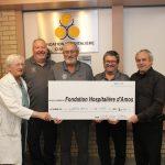 Implication financière du Club Lions d'Amos à la Fondation Hospitalière