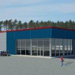 Construction d'un magasin à grande surface Rossy à Malartic